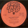 OLIVER & THE O.C.B. - The ghetto boy / Precious lord - 7inch (SP)
