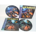 IRON MAIDEN - The Beast Down Under Vol.1 & Vol.2 (2xlp) Ltd Edit Pict-Disc -E.U - 33T x 2
