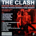 THE CLASH - Give Em Your Money... Love To Sid (lp) - 33T