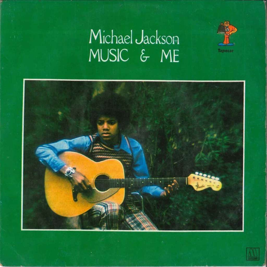 michael jackson Music and me (Blue Label)