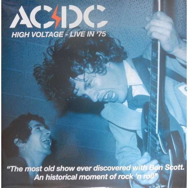 AC/DC High Voltage - Live In '75 (2xlp) Ltd Edit Gatefold Poch -Japan