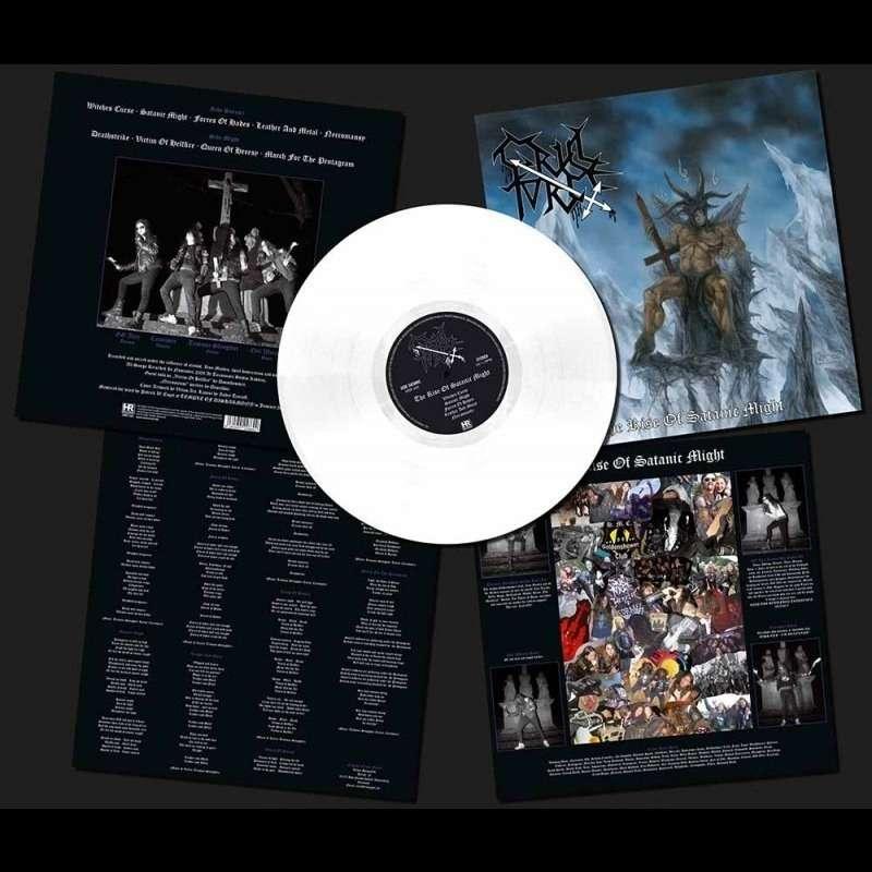 CRUEL FORCE The Rise of Satanic Might. White Vinyl