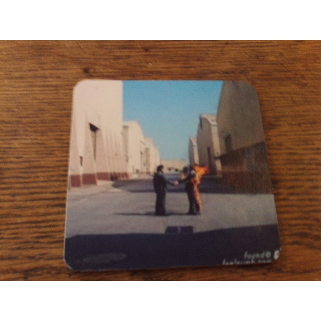 Pink Floyd WISH YOU WERE HERE drink coasters