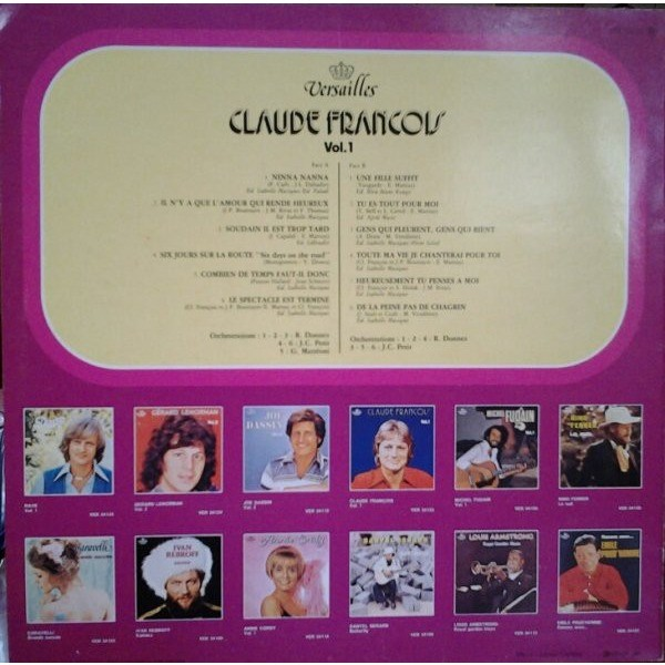Claude Francois Vol 1 (Compilation 12 Tracks )