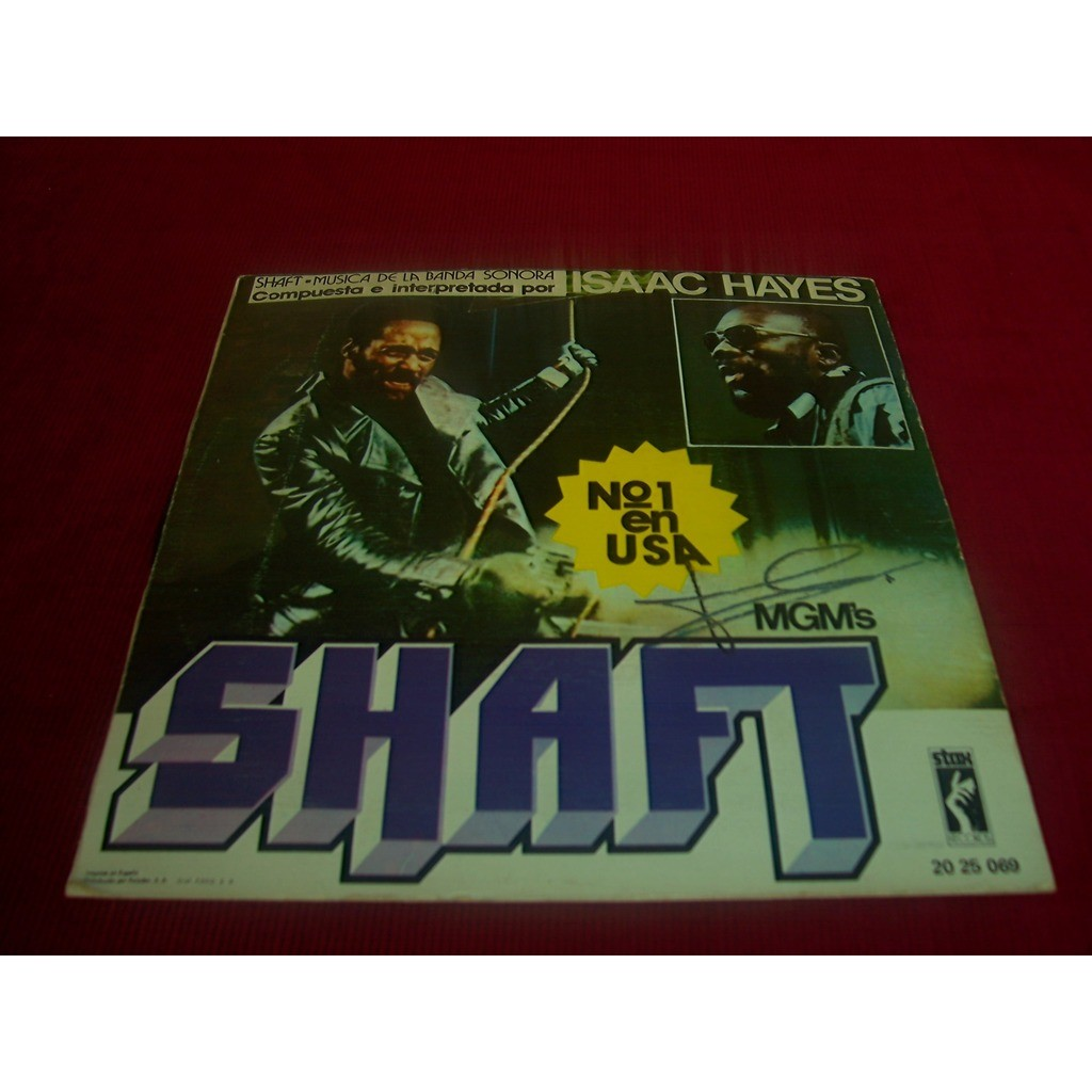 ISAAC HAYES BO SHAFT BE YOURSELF