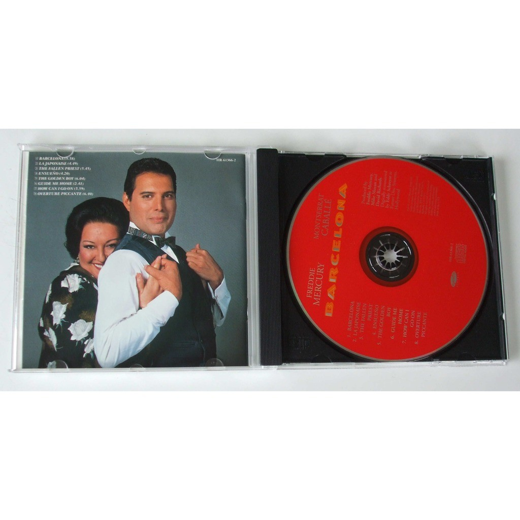 freddie mercury and montserrat caballe barcelona dvd