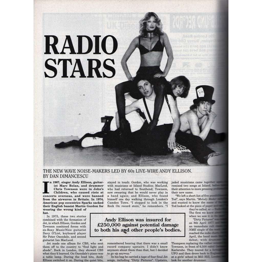 Radio Stars Record Collector (N.246 Feb. 2000) (UK 2000 music collector's magazine)
