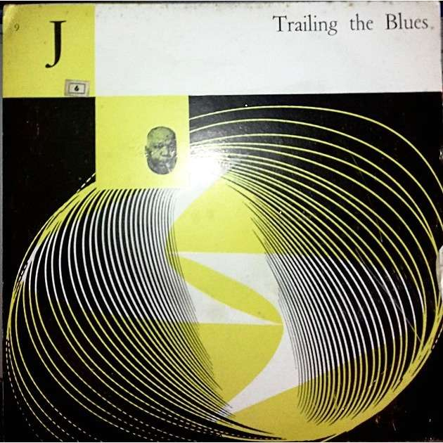 Various ‎ (Vinyl, 10, Compilation ) Trailing The Blues