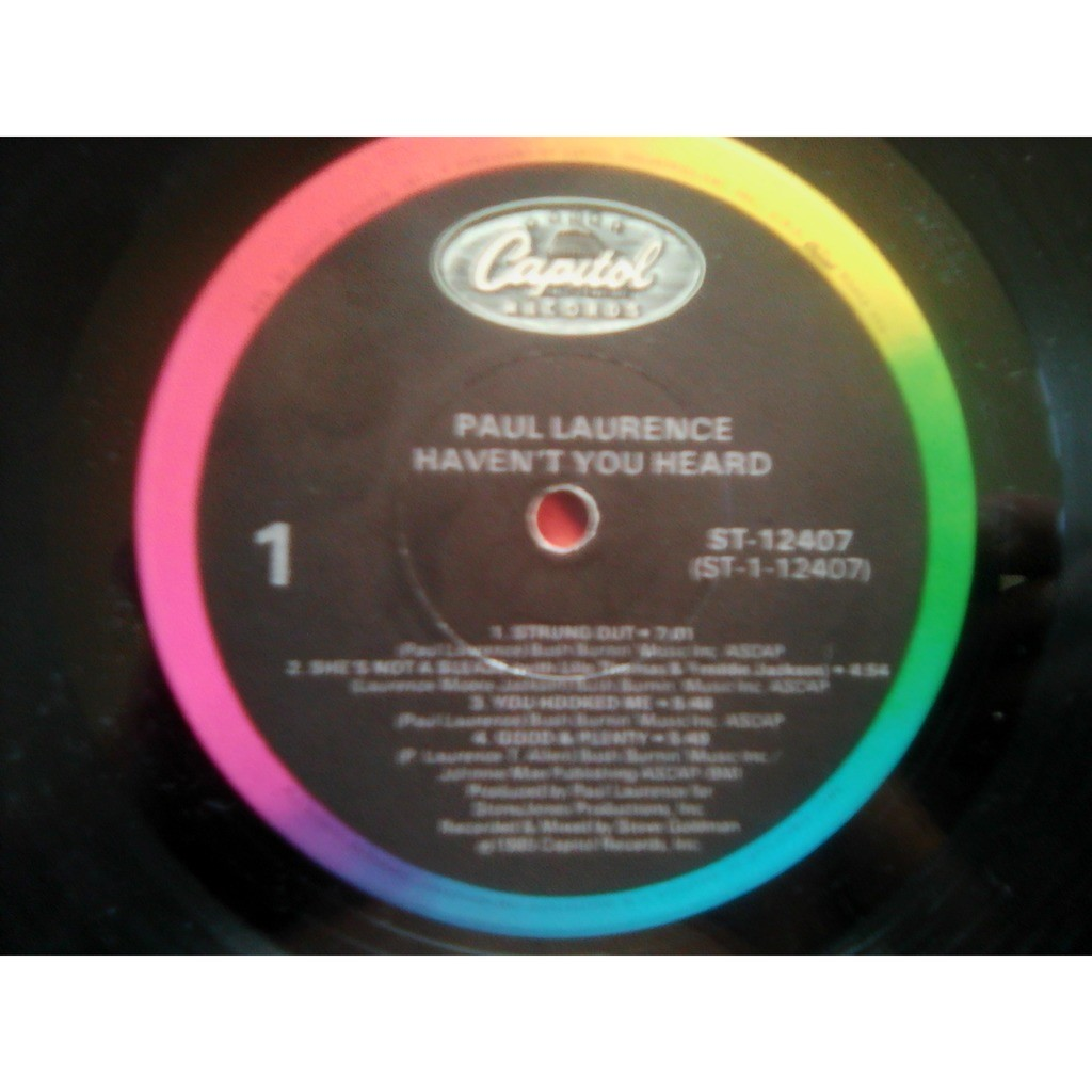 Paul Laurence - Haven't You Heard Paul Laurence - Haven't You Heard