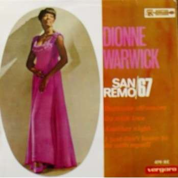 Dionne WARWICK san remo/67 dédicato all'amore/ go with love/ another night/ i just don't know to do with myself
