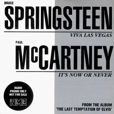 Bruce Springsteen Viva Las Vegas (UK 1990 Ltd 500 copies 2-trk promo cd sampler unique card ps)