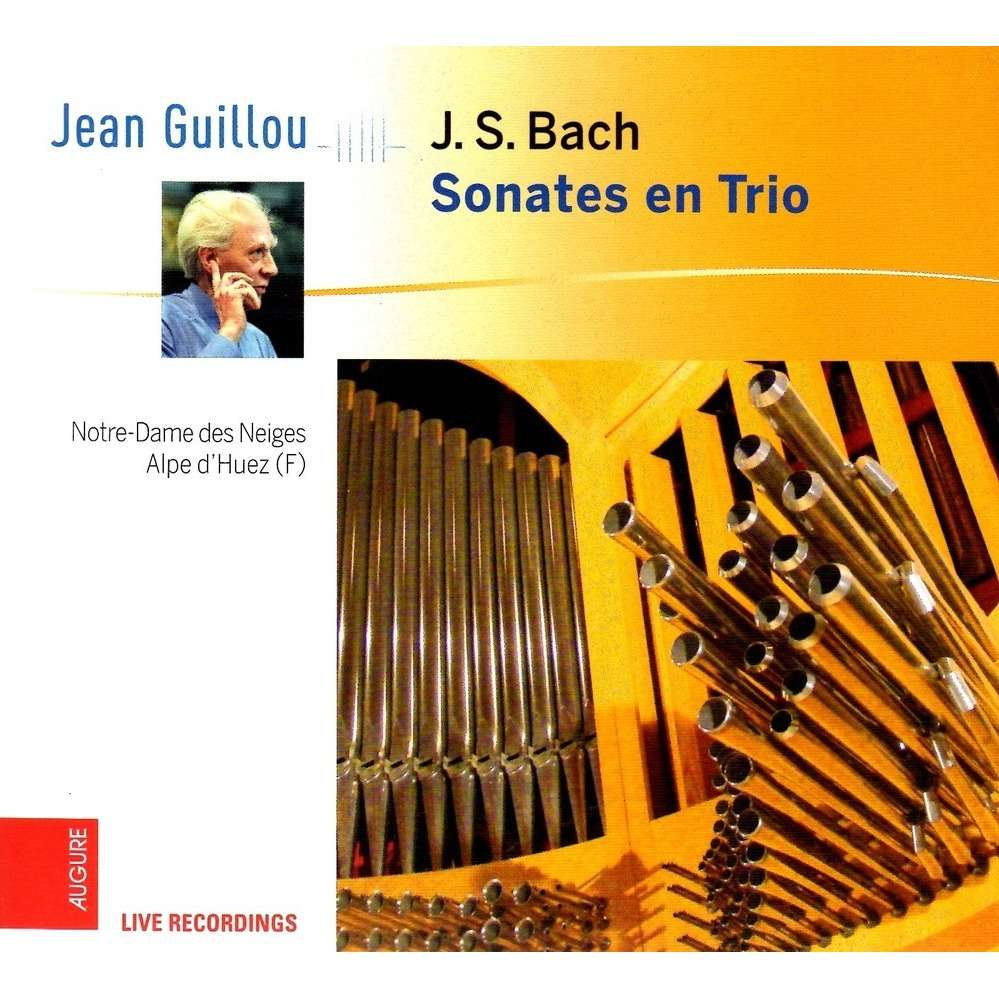 Jean Guillou J.S. Bach - Sonates en Trio