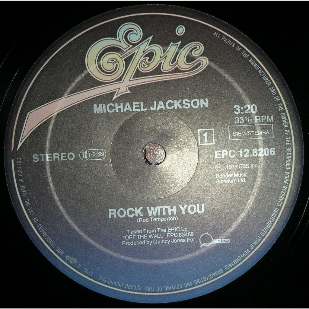 michael jackson rock with you