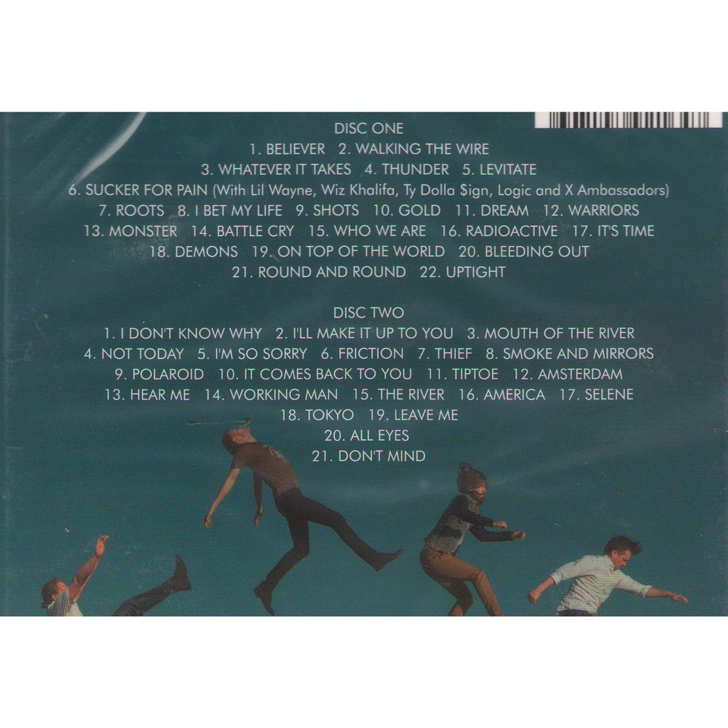 imagine dragons cd  Greatest hits 2 cd digipak by Imagine Dragons, CD x 2 with ...