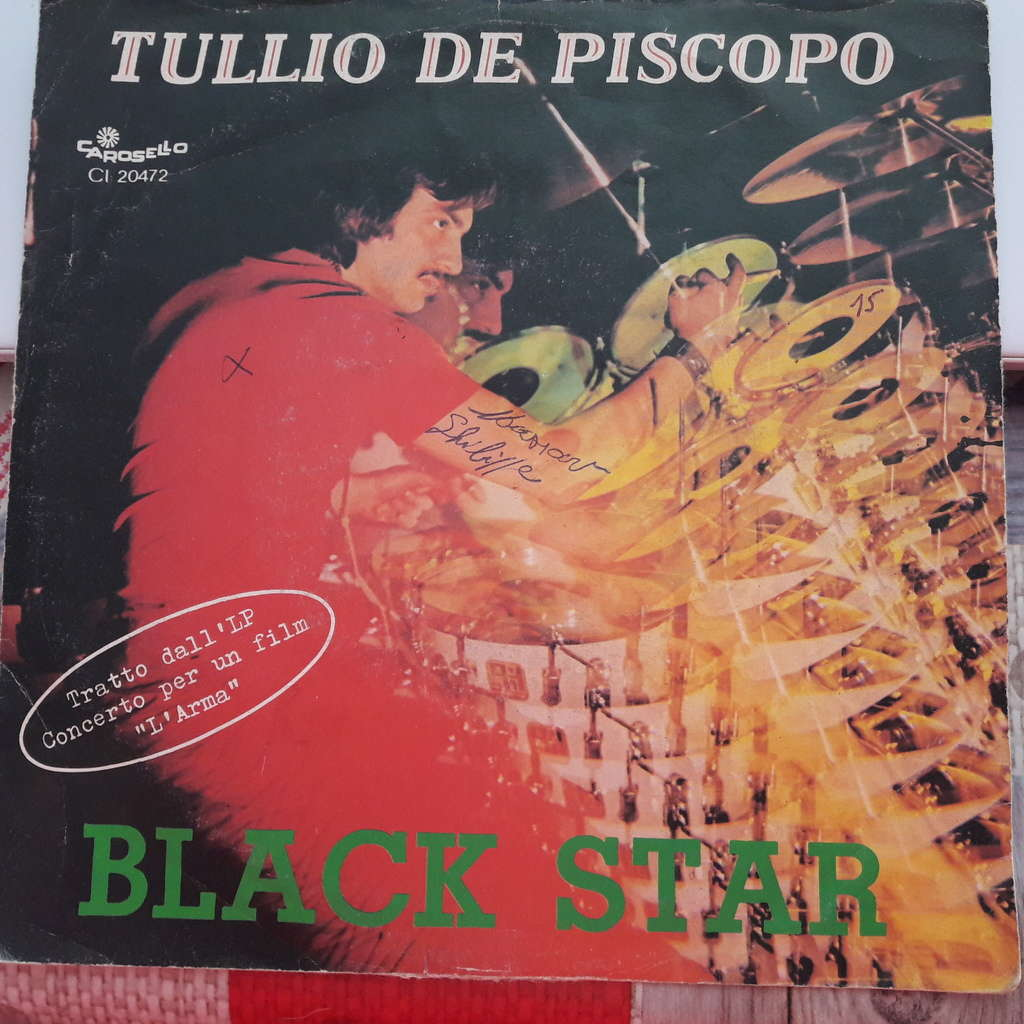 Tullio De Piscopo Black Star / temptation