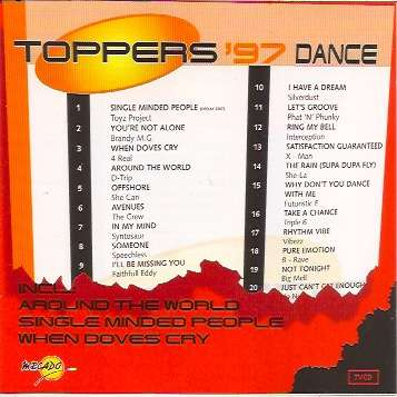 divers artistes - various artist Toppers '97 Dance