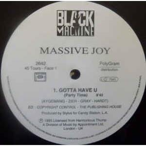 Massive Joy Feat. Yaffayo  Gotta Have U ( Promo )