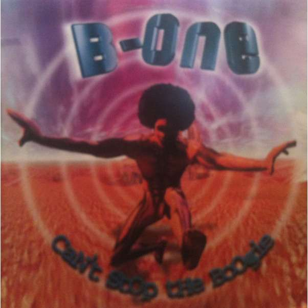b one can't stop the boogie (clear Vinyl)