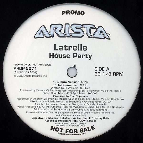Latrelle House Party ( Promo )