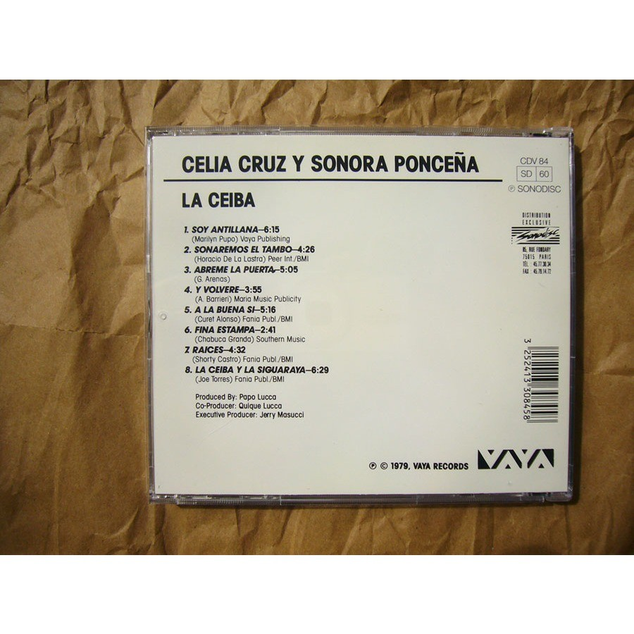 Celia Cruz Y La Sonora Ponceña La Ceiba