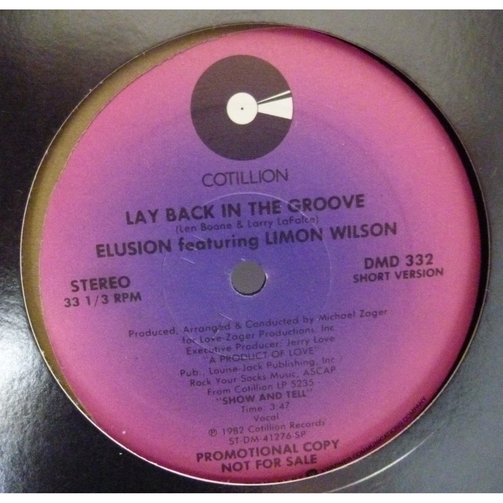 Elusion Lay Back In The Groove
