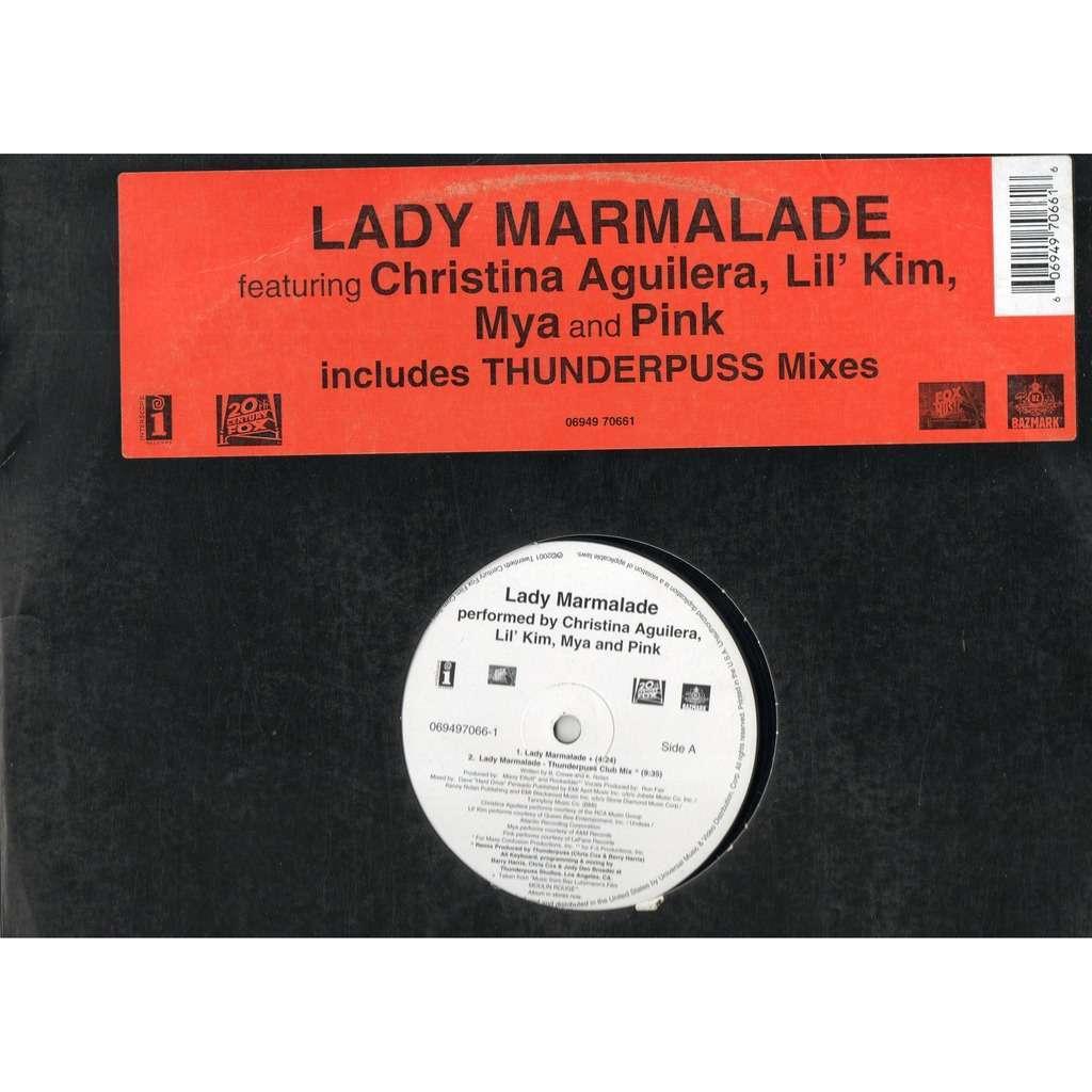 Christina Aguilera, Lil' Kim, Mya and P!NK Lady Marmalade