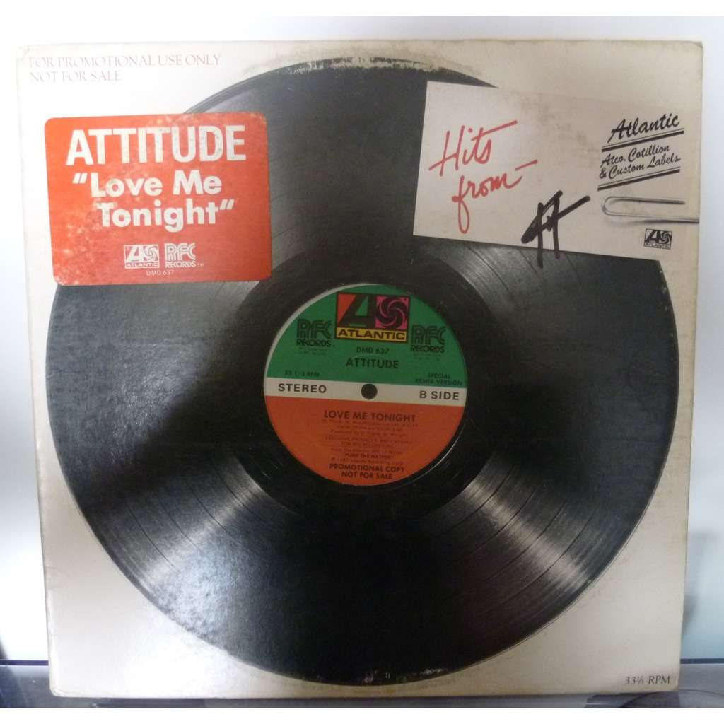 attitude Love Me Tonight