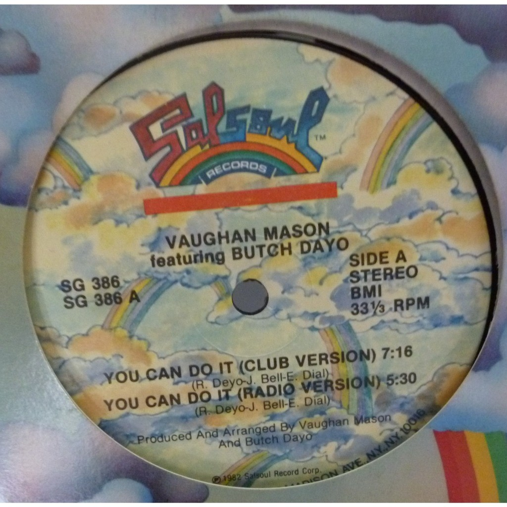 Vaughan Mason Featuring Butch Dayo You Can Do It