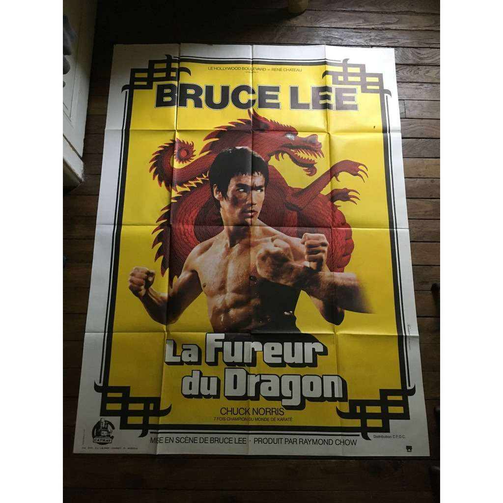 BRUCE LEE La Fureur Du Dragon (Return Of The Dragon)