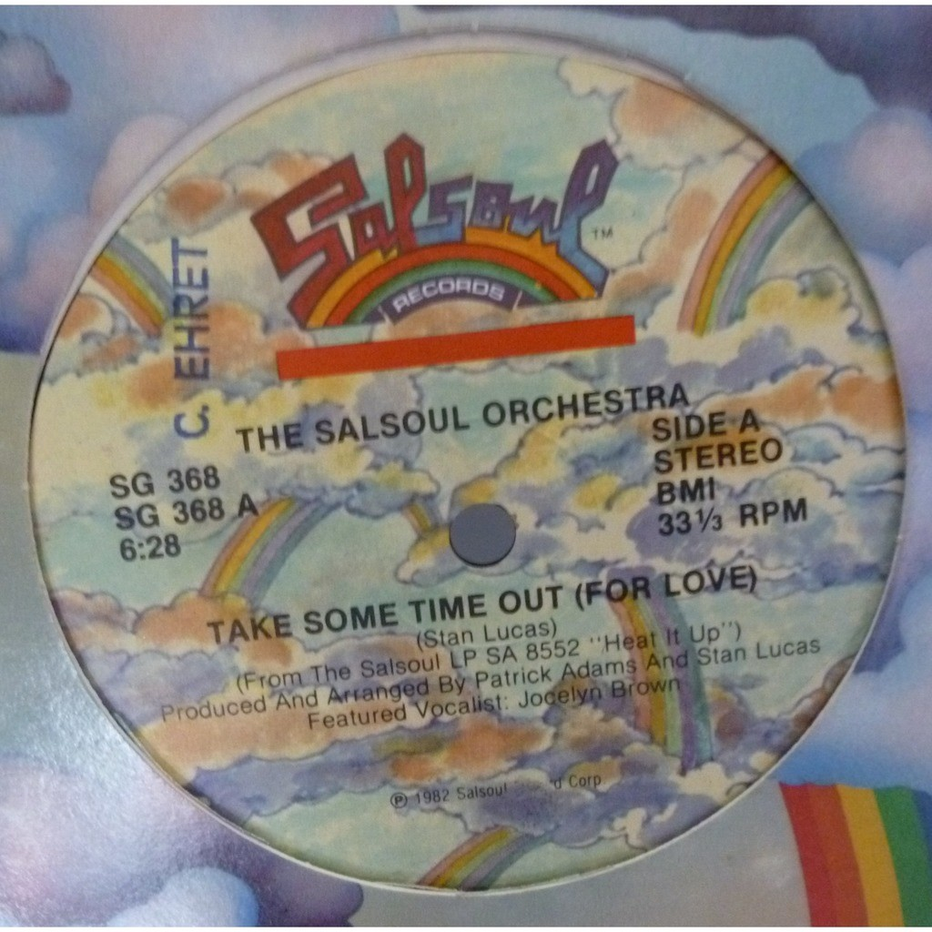 The Salsoul Orchestra ‎ Take Some Time Out (For Love)