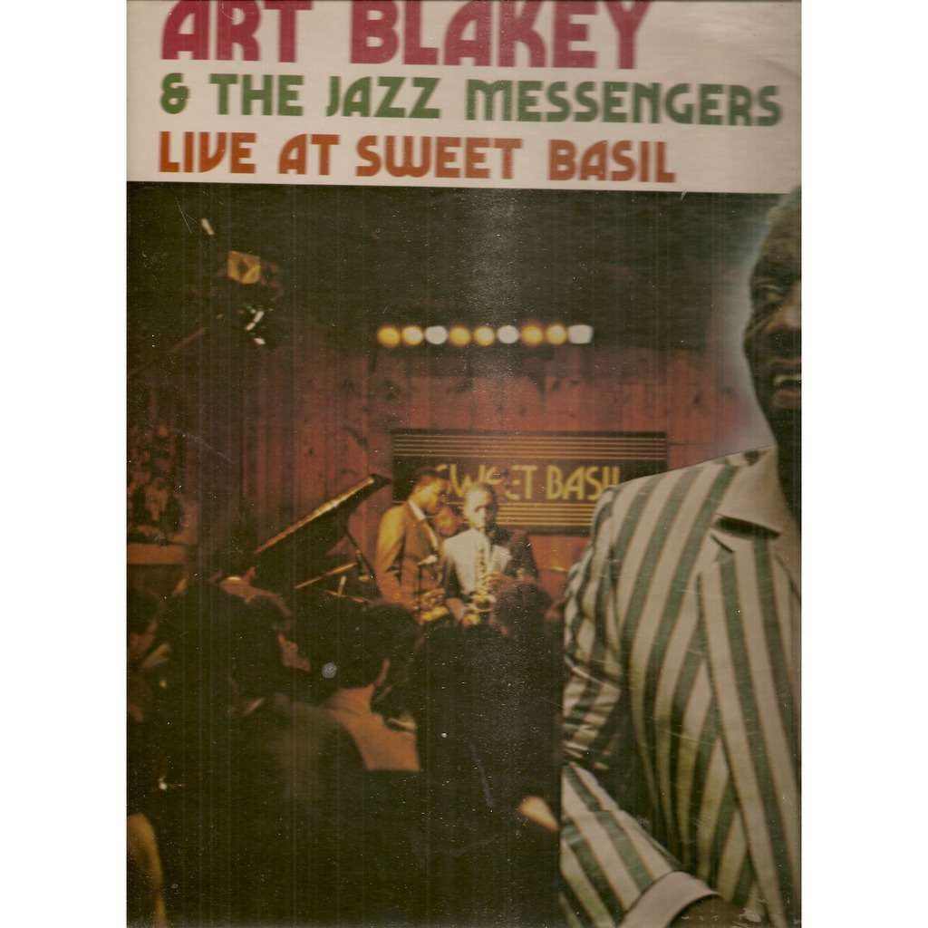 Art Blakey & The Jazz Messengers ‎ Live At Sweet Basil