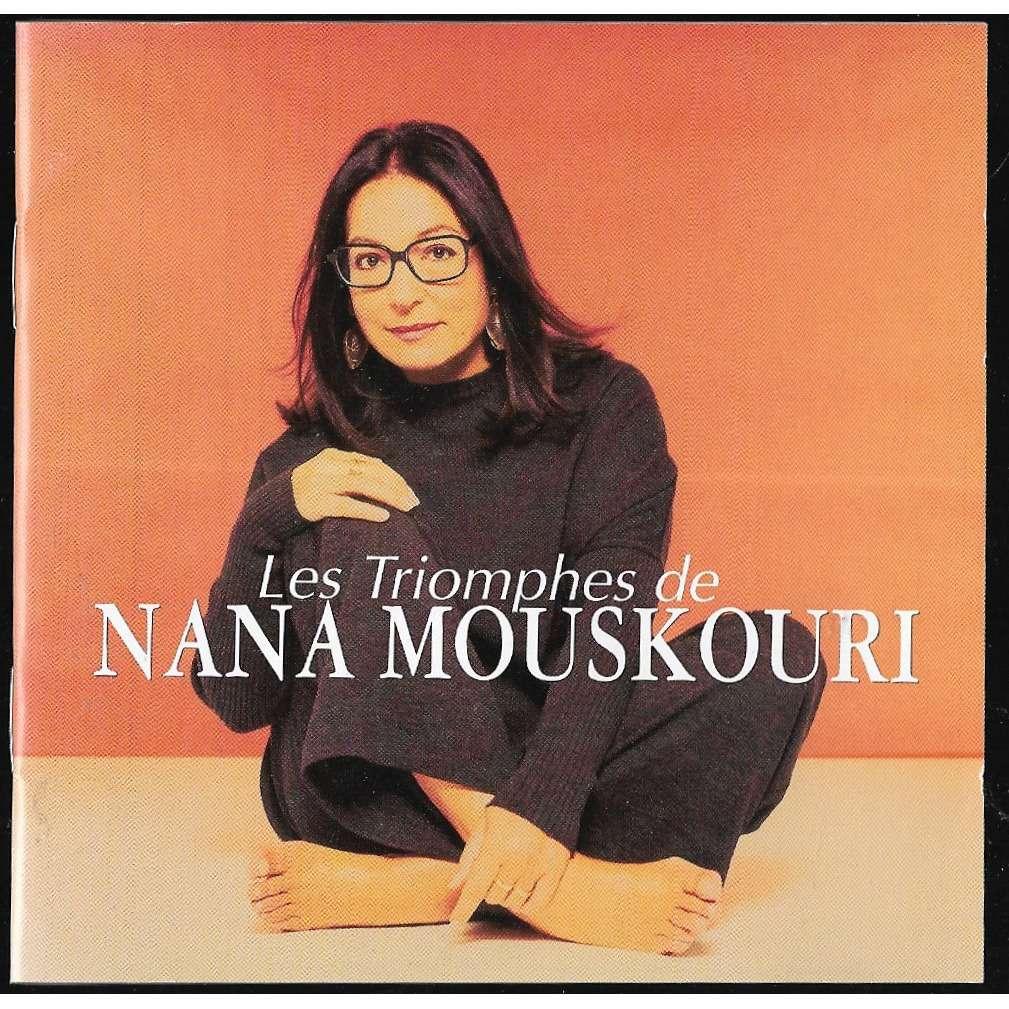 Les Triomphes De Nana Mouskouri By Nana Mouskouri Cd X 2