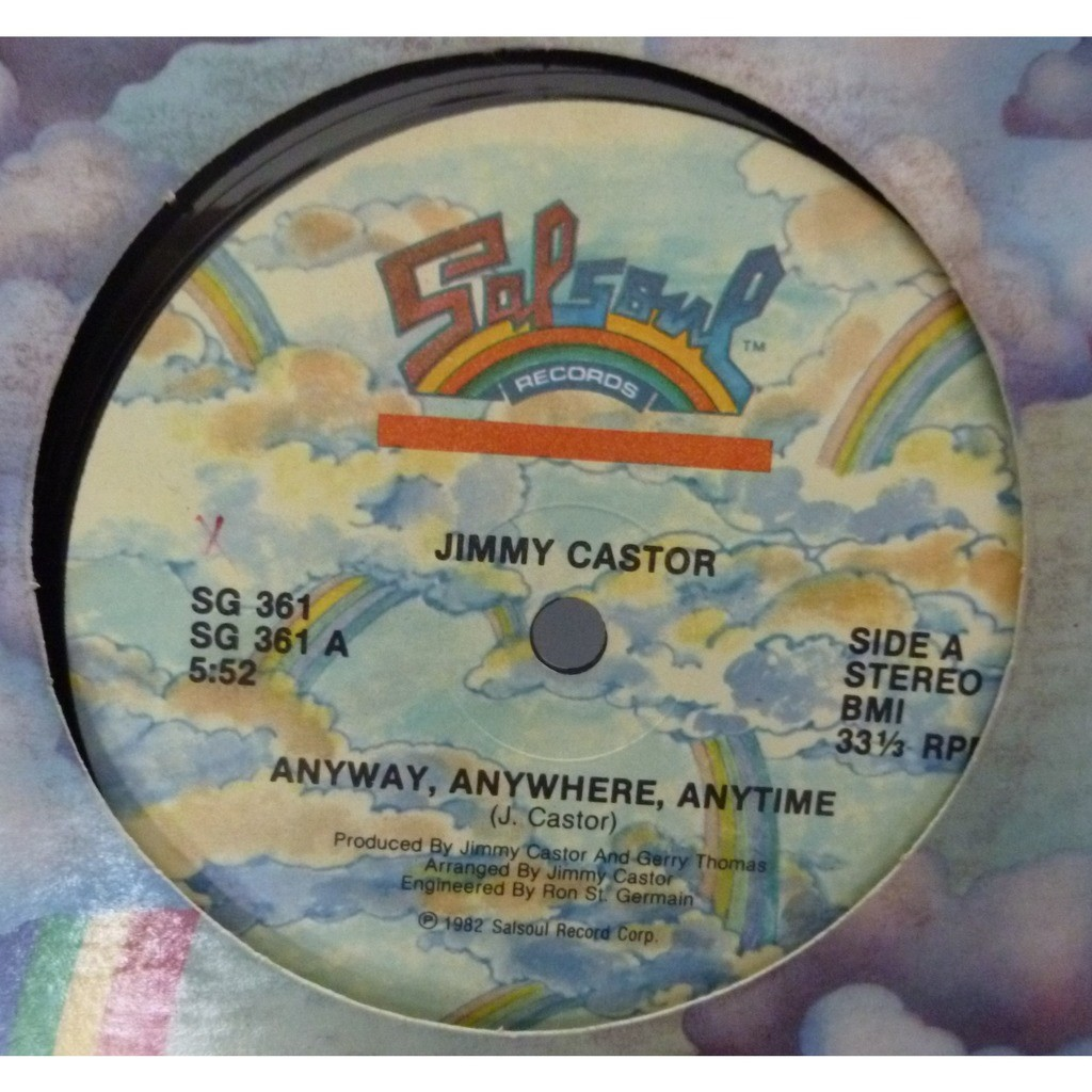 jimmy castor Anyway, Anywhere, Anytime