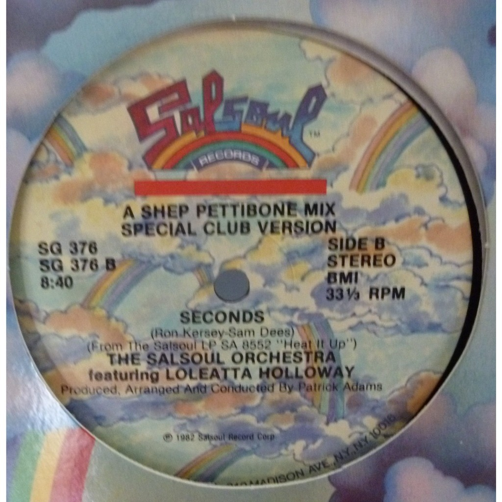 The Salsoul Orchestra Featuring Loleatta Holloway SECOND