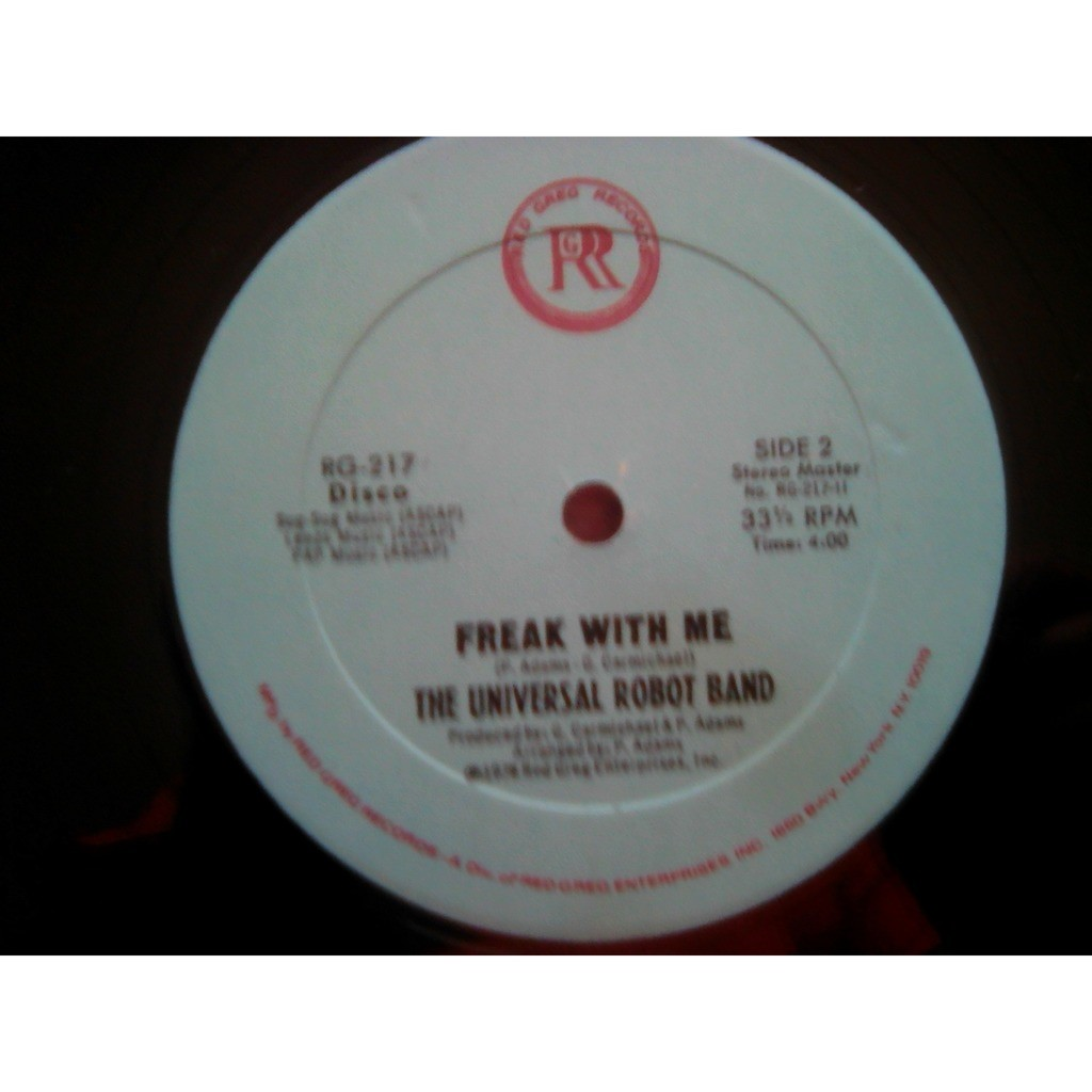 The Universal Robot Band - Freak With Me The Universal Robot Band - Freak With Me