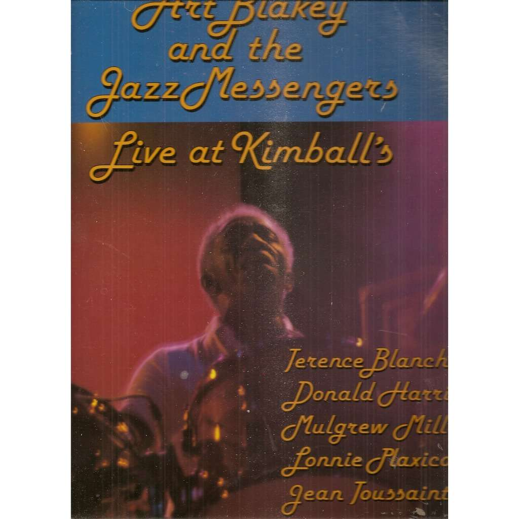 Art Blakey And The Jazz Messengers Live At Kimball's