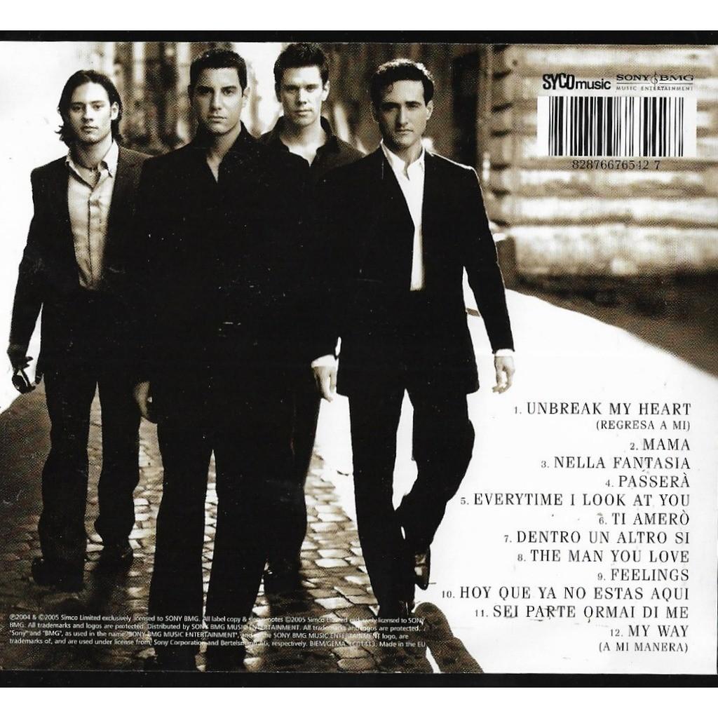 Il divo il divo cd libertemusic id 118895162 for Il divo cd list