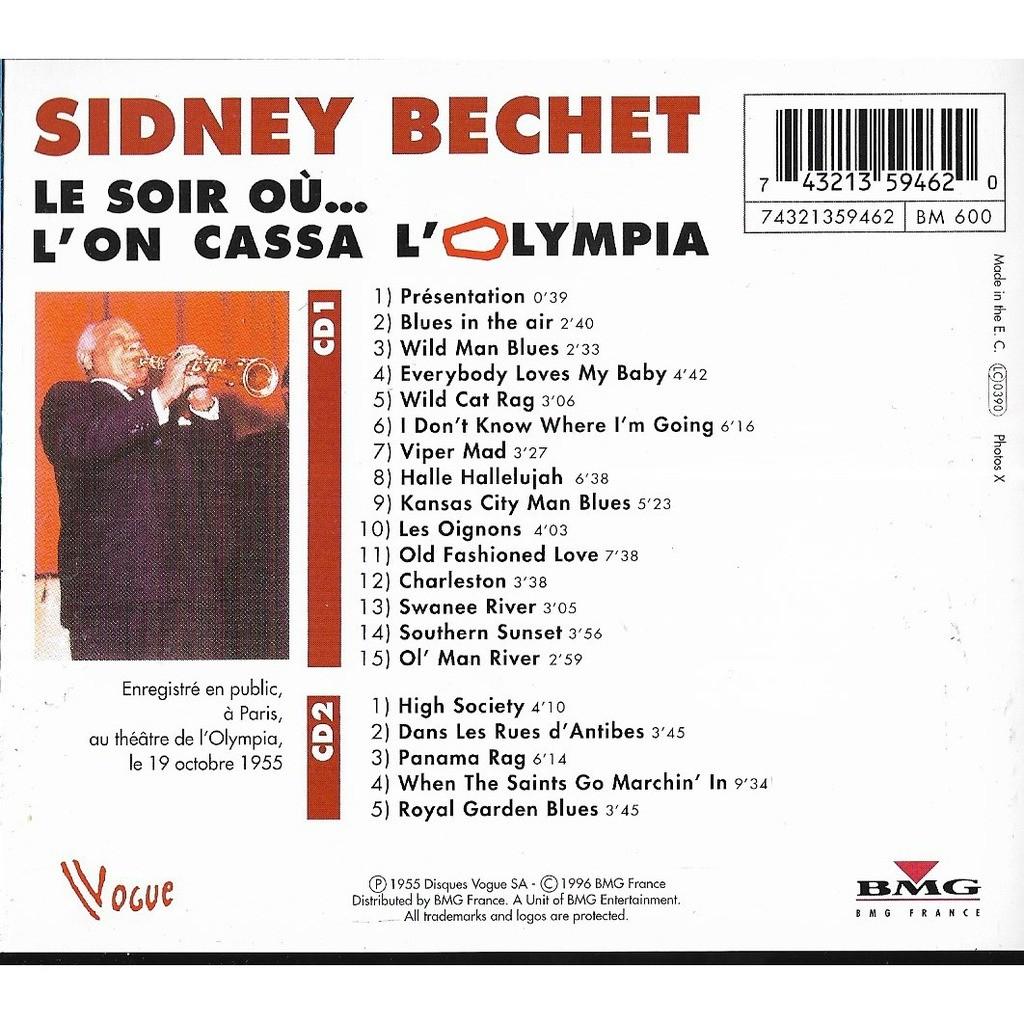 Sidney Bechet Le Soir où...l'on cassa l'Olympia ~