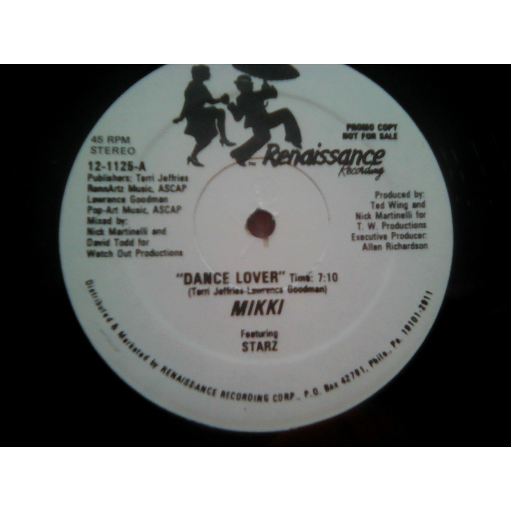 Mikki Featuring Starz - Dance Lover Dance Lover (Dub Mix)