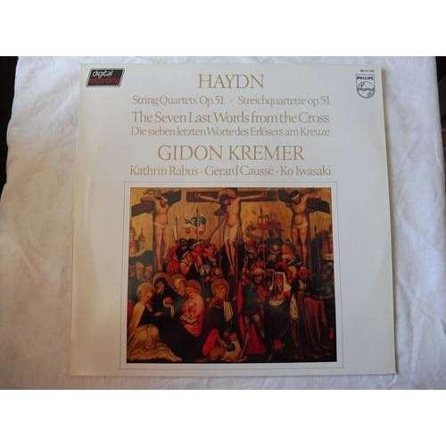 Gidon Kremer & Kathrin Rabus / Ko Iwasaki Haydn : Quatuors op.51 les sept dernières paroles du christ - ( stéréo digital mint condition )