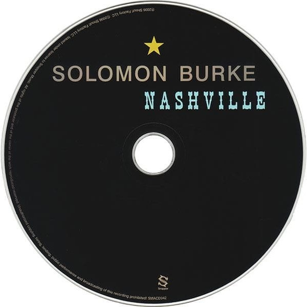 SOLOMON BURKE - NASHVILLE (U.K. PRESSING 1 CD)