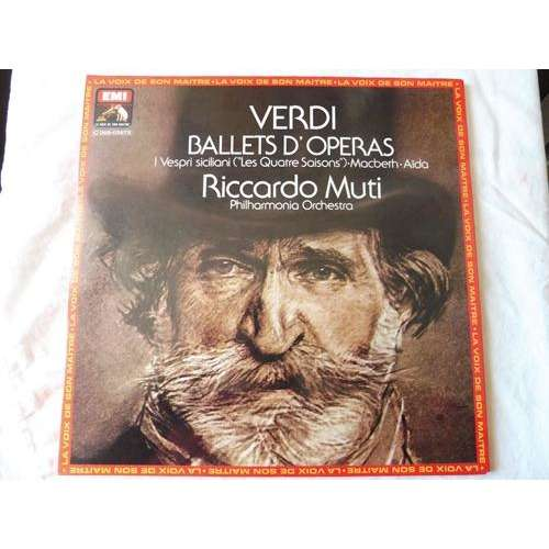 riccardo muti dir philharmonia orchestra Ballets From Verdi Operas - ( stéréo near mint condition )