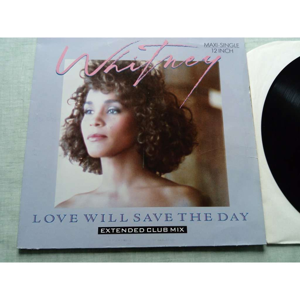 whitney houston ( MAXI VINYL ) love will save the day