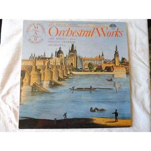 Jan Václav - Antonín Stamic •- prague chamber orch Orchestral Works - ( stéréo near mint )