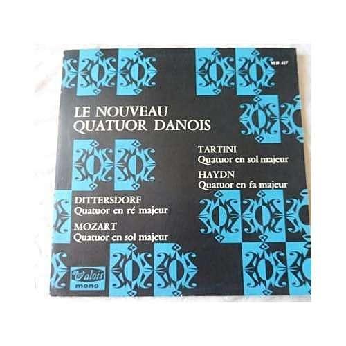 LE NOUVEAU QUATUOR DANOIS Le Quatuor A Cordes Au 13e Siècle Tartini, Haydn, Dittersdorf, Mozart - ( very rare mono label )
