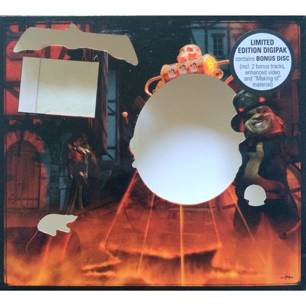 HELLOWEEN - GAMBLING WITH THE DEVIL (GER. PRESSING 2 CD's DIE-CUT COVER + 20 PAGES BOOK & INSERT)