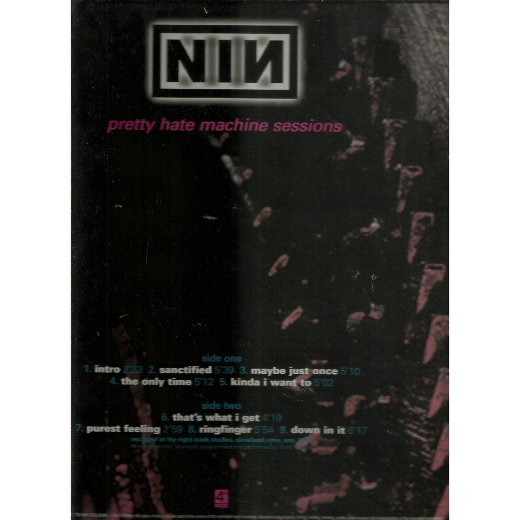 Pretty hate machine sessions by Nine Inch Nails, LP with ...