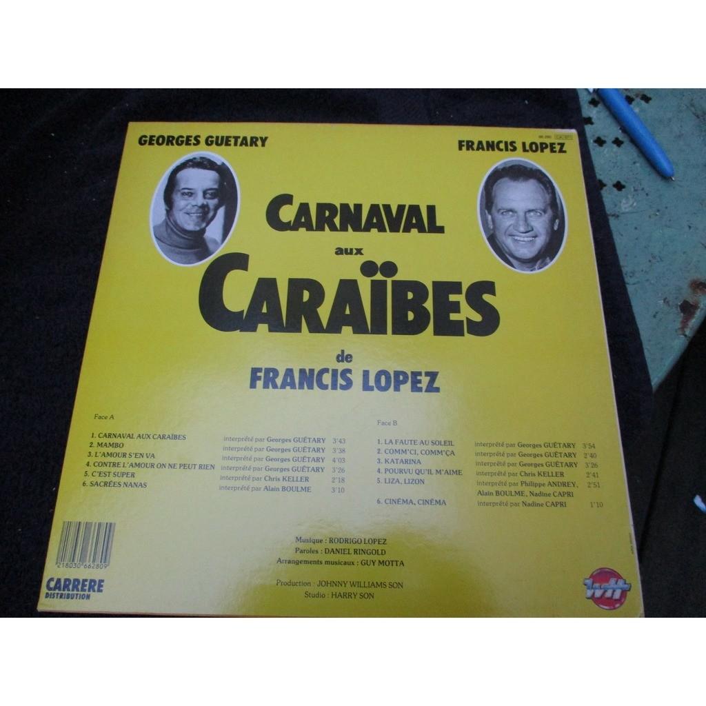 francis lopez/georges guetary carnaval aux caraibes