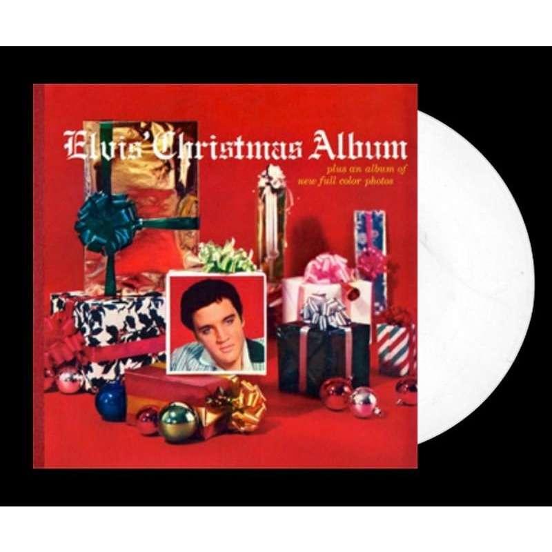 Elvis Presley Elvis Christmas Album.Elvis Presley 1 Lp 33 Tours Elvis Christmas Album White Vinyl 180 Grammes Edition