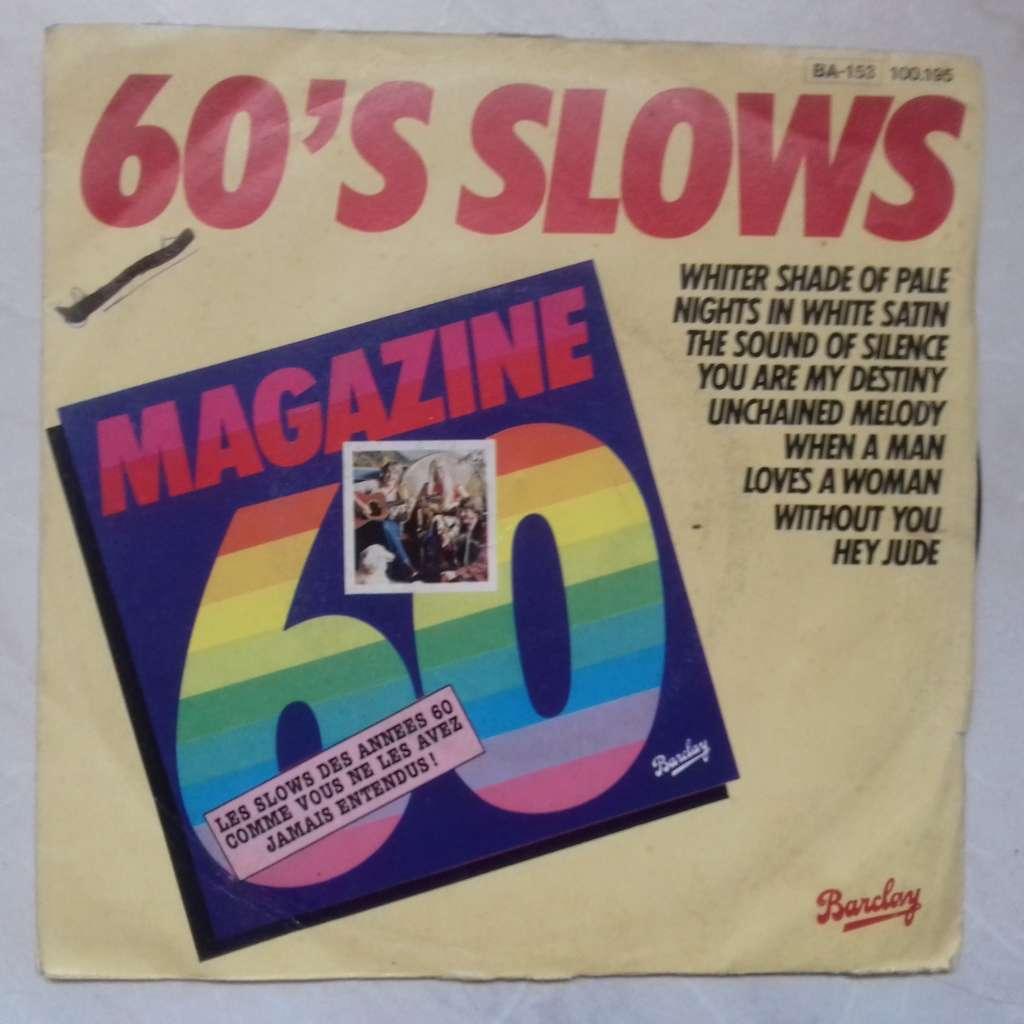 magazine 60 60's slows